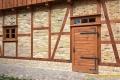 Architektura ogrodowa - mur pruski po renowacji