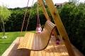 Architektura ogrodowa - huśtawka Zduńska Wola
