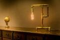 Lampa własnej roboty - rękodzieło