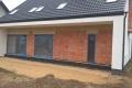 Elewacja domu w Łasku