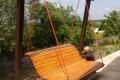 Architektura ogrodowa - huśtawka Beleń